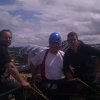Duncan Bannatyne Abseiling with Vertical Events in Newcastle