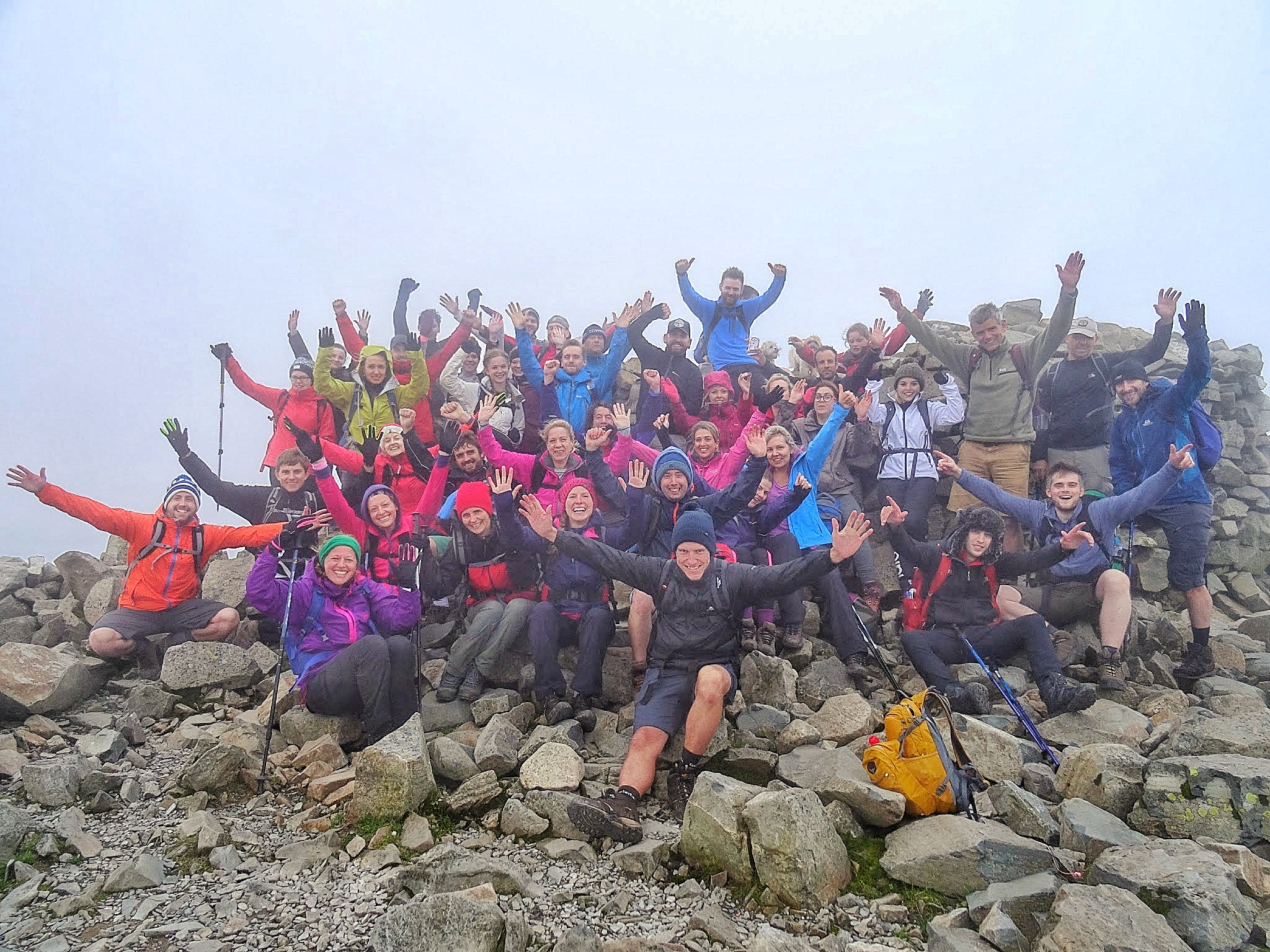 vertical events team on the 3 peaks