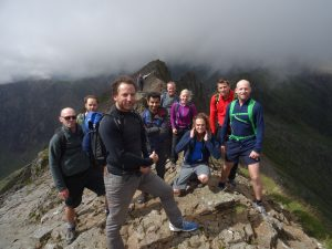 Group in Snowdonia
