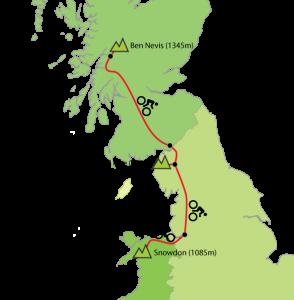 ultimate 3 peaks map
